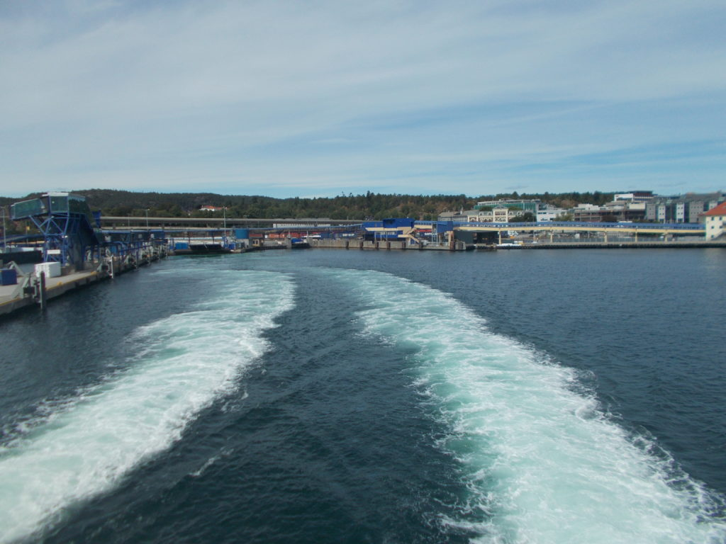 Kristiansand: Scandic Bystranda to the Port