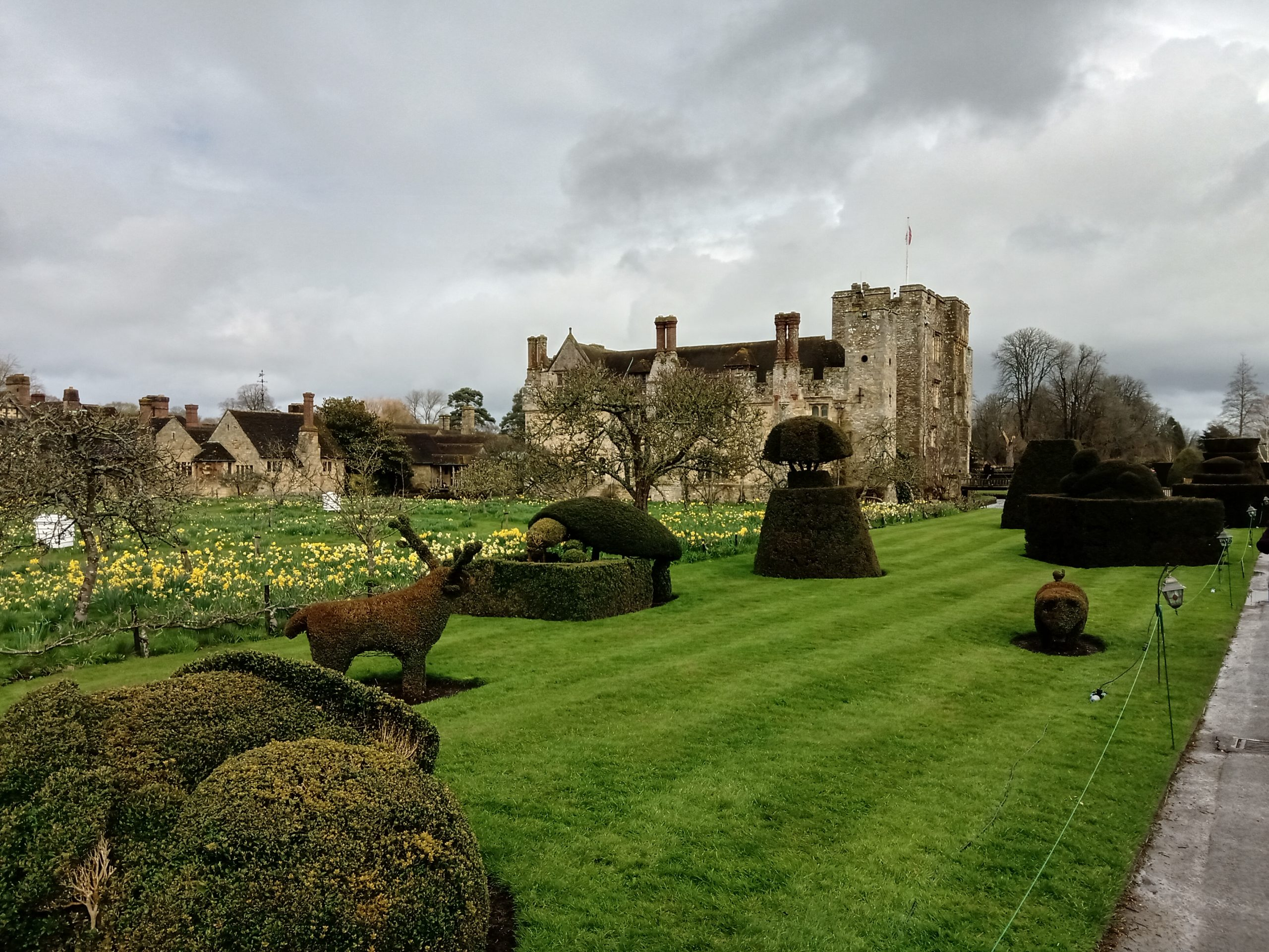 Hever Castle to Blackheath