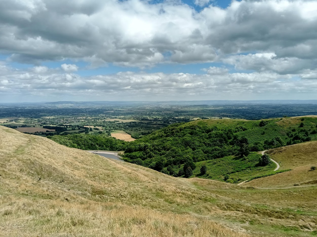 Crowle to the Malvern Hills