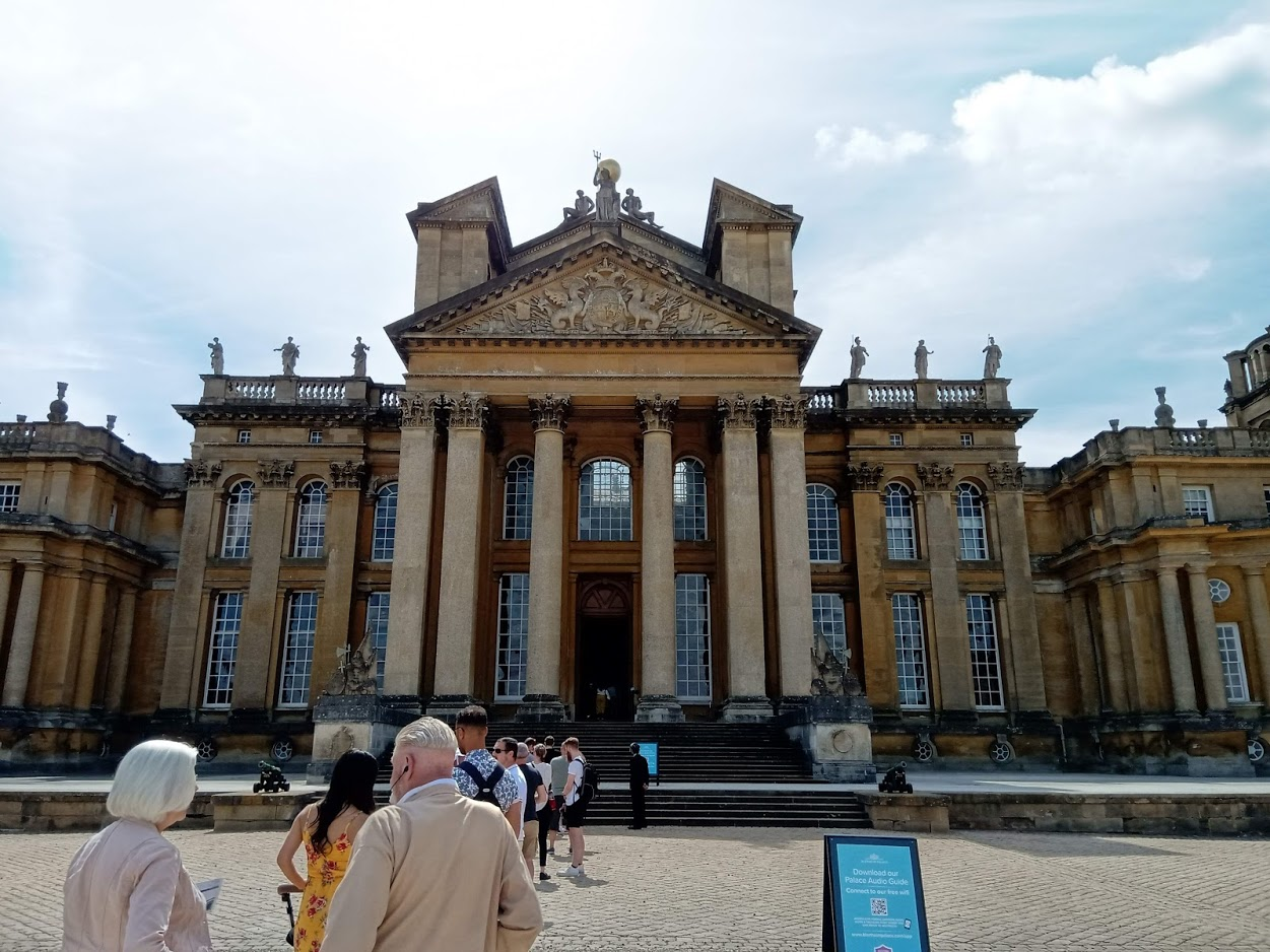 Blenheim Palace to Cirencester