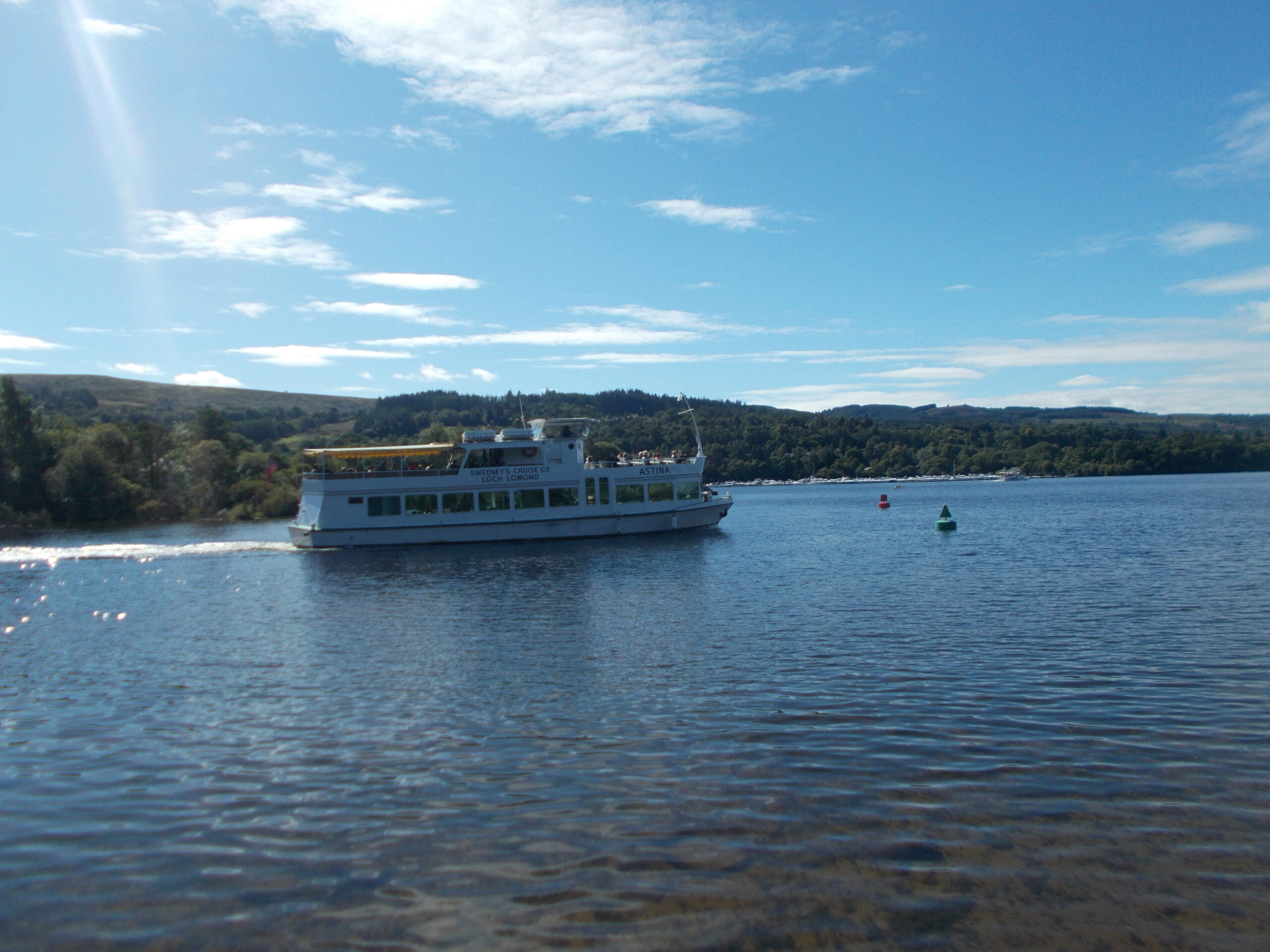 Cairn Lodge Services to Balloch