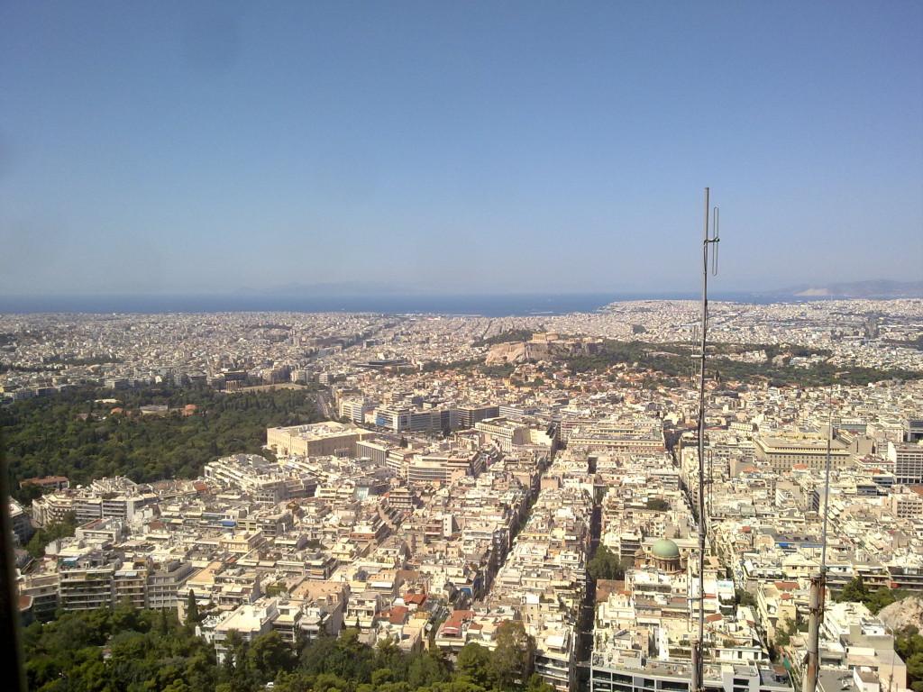 View frrom Lykavittos