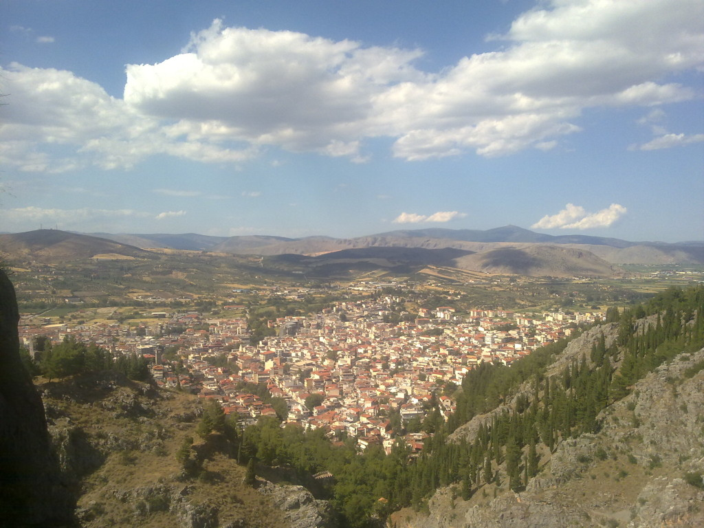 Leivadia View from Church