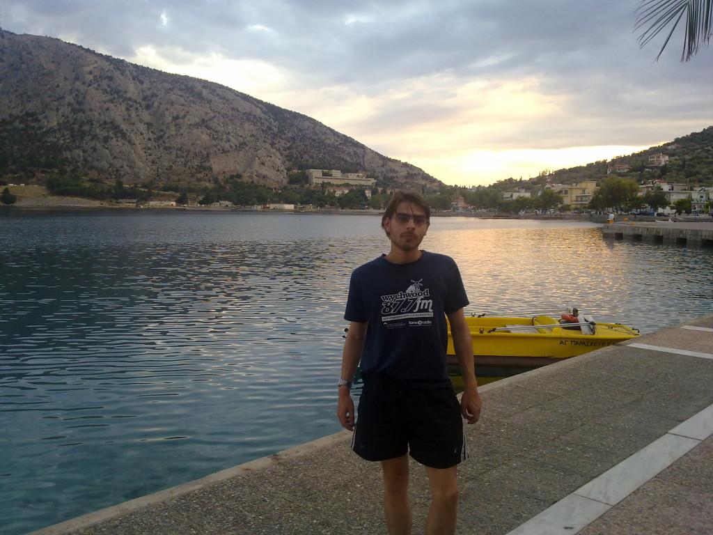 Me in Antikyra