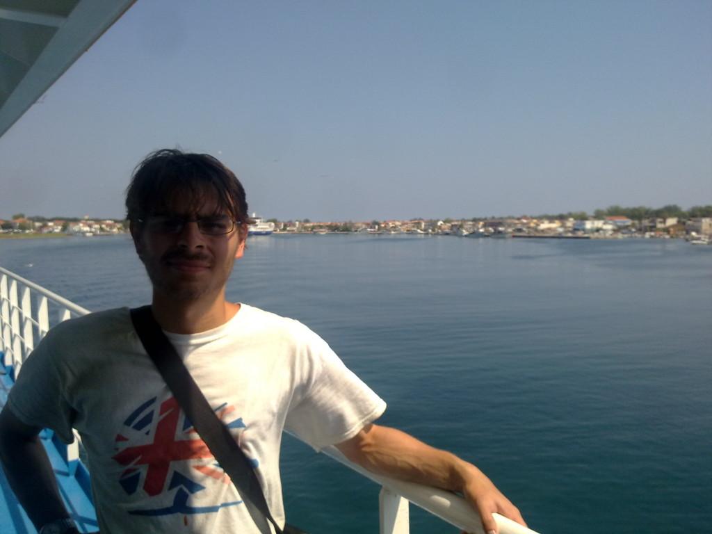 Leaving Keramoti