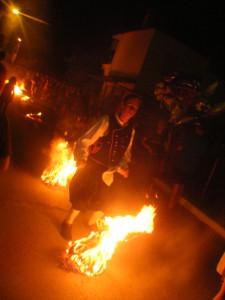 Φωτιές του Αυγούστου, Καλύβια Θάσου.