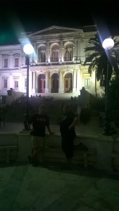 Miaouli Square in Ermoupoli