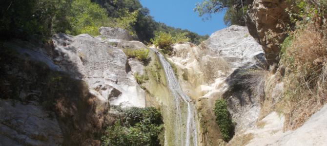 Dimossari Waterfalls, Nydri