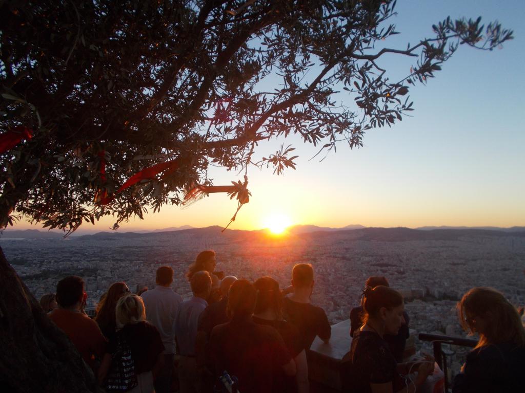 Sunset from Lykavittos