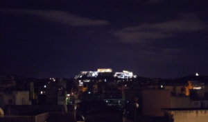 A View of Athens' Acropolis