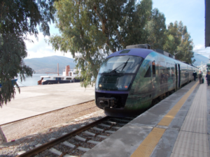 Train to Athens