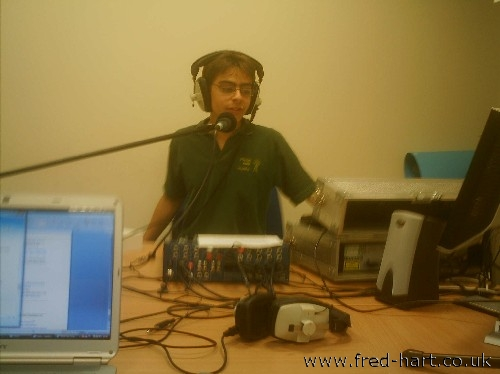 Fred In the Studio