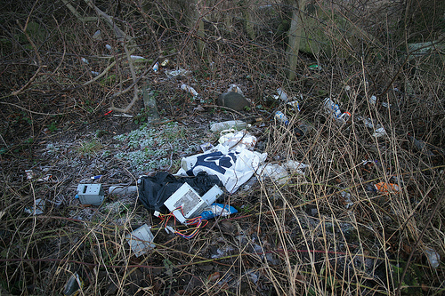 Rural Roadside Rubbish