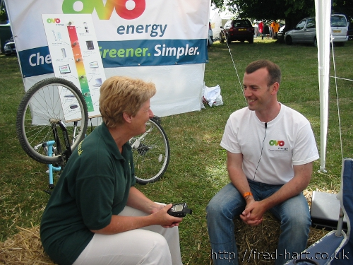 Ovo Energy At the Cotswold Show