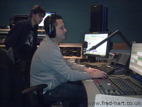 The BBC 6 Music Studio