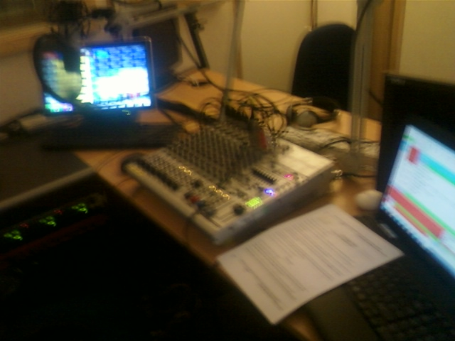 The new Tone Radio studio.