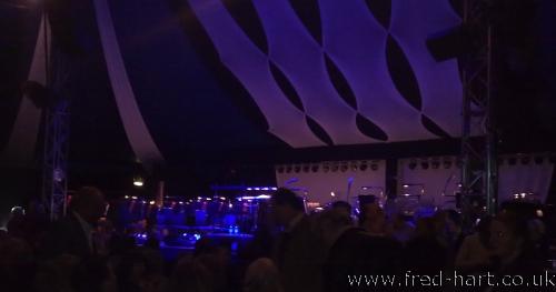 Stage View - Chelt Jazz Fest 2013
