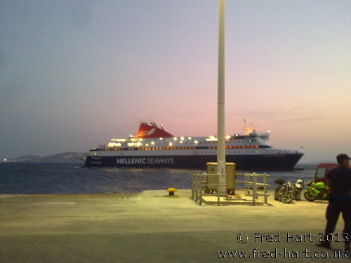 "Hellenic Seaways ""Nissos Mykonos"""