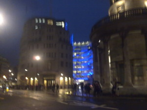 Broadcasting House at Night