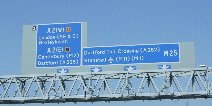 M25 Dartford